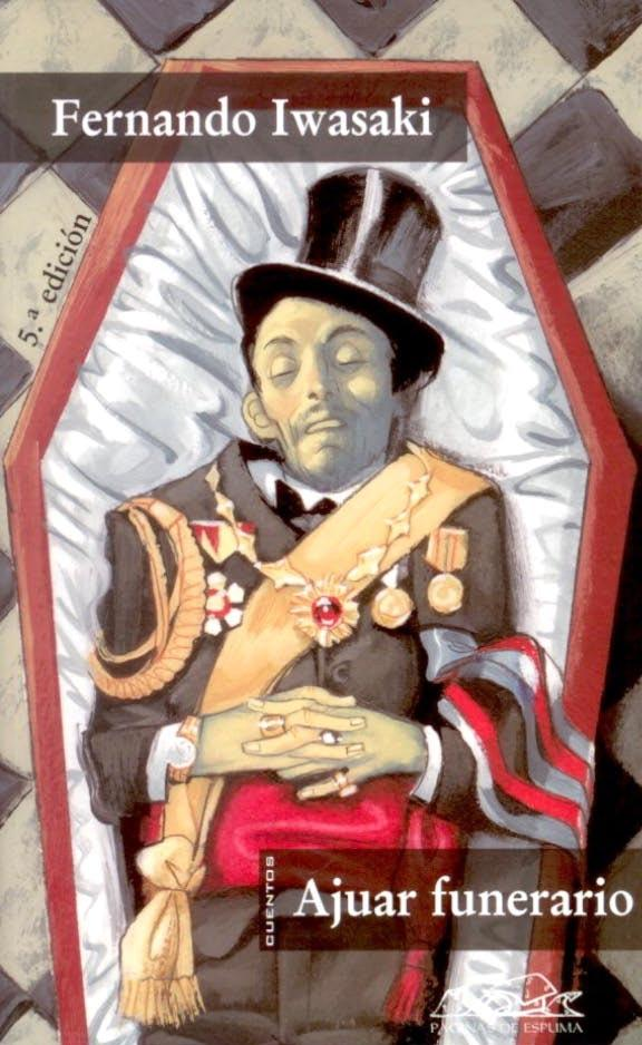 "Portada ""Ajuar funerario"" - Fernando Iwasaki"