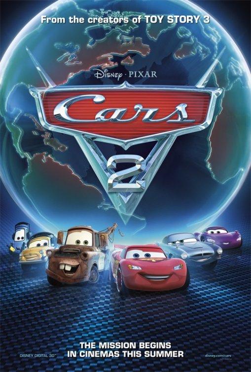 Kinogallery com cars 2 poster 6